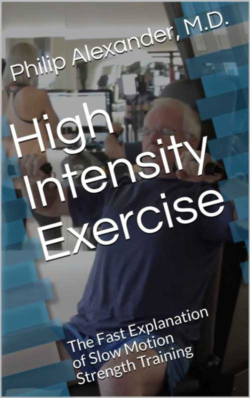 high intensity exercise book cover