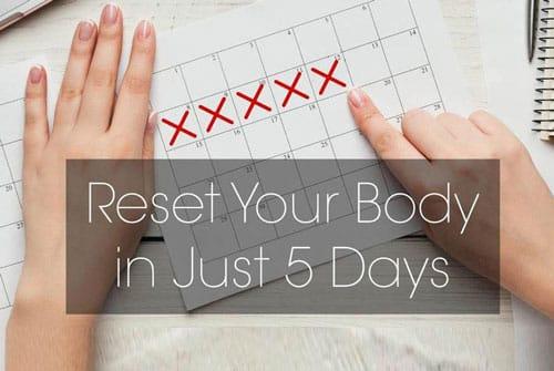 5-day reset diet